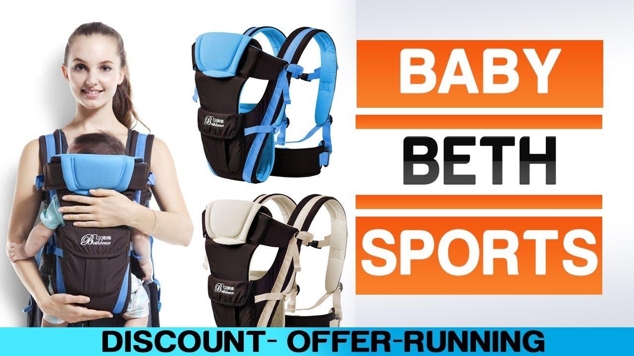 99557df7b93 Beth Bear ergonomic baby carrier for newborn