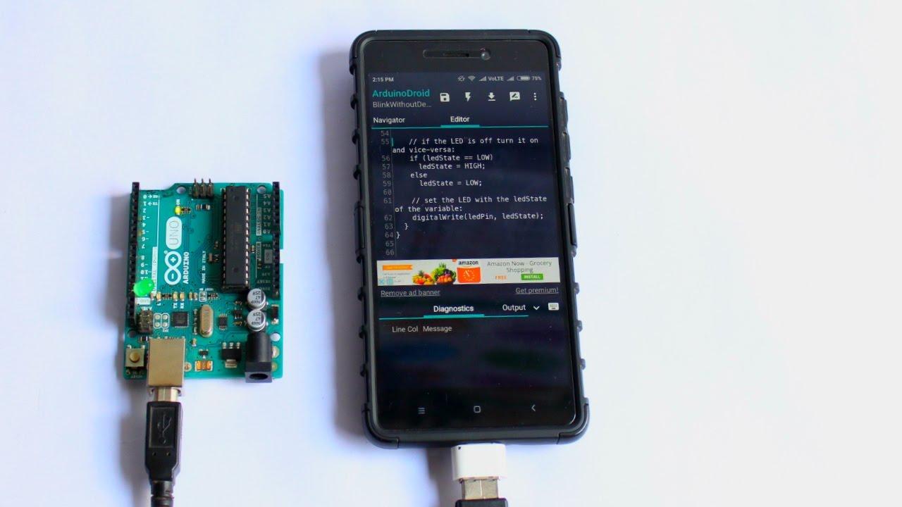 Program arduino in assembly