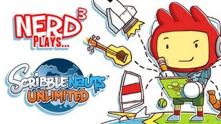 Nerd³ Plays... Scribblenauts Unlimited