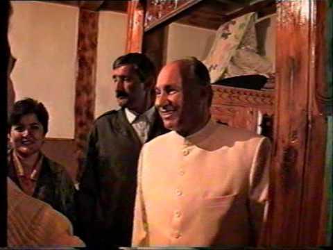Rare Historic video of Hazir Imam Aga Khan
