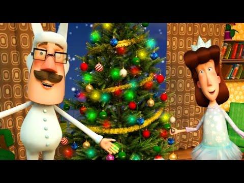 Поучительные мультики Ангел Бэби - Мы верим в Деда Мороза (26 серия)