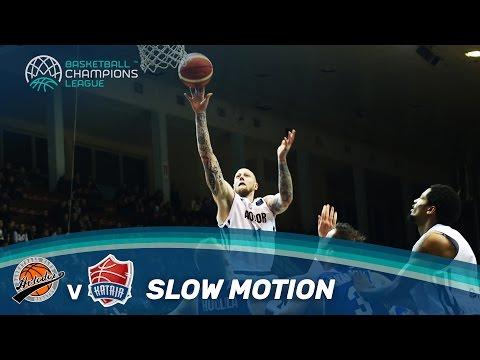 Best of Saratov v Kataja in slow motion! | Basketball Champions League