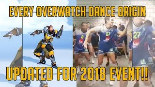 EVERY OVERWATCH DANCE REFERENCE | UPDATED FOR 2018 ANNIVERSARY | TradeChat