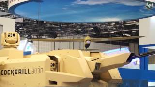 CMI Defence at IDEX 2017 : Modularity, Turret/Drone pairing, Missiles and Simulation