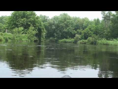 Canoeing - Oconto River - Wisconsin