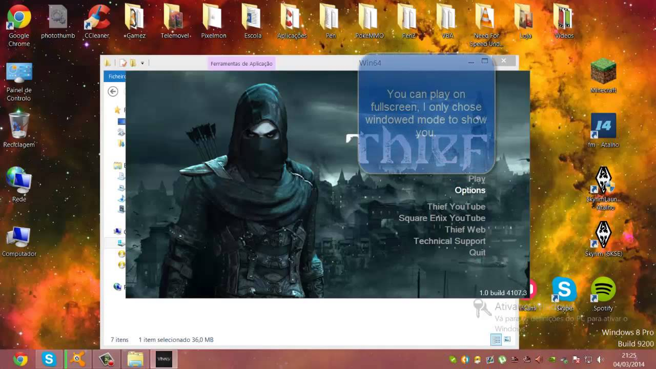 Thief 2014 - HOW TO FIX BLACK SCREEN