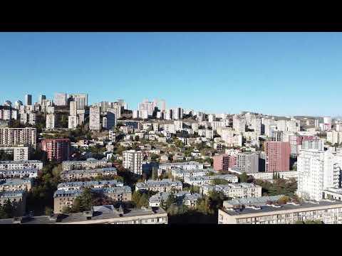 Watch Drone Footage For Saburtalo, Tbilisi [Near My Office]