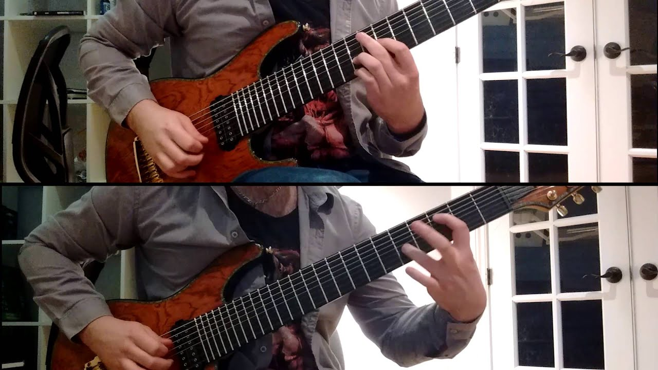 animals as leaders david 8 string cover w tabs youtube