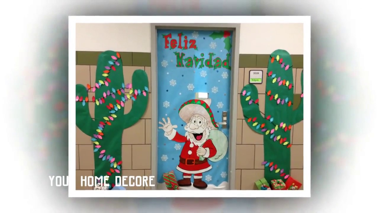 95 christmas door decorating contest ideas - christmas ...