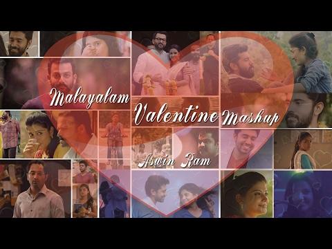 Valentine's  Mashup Malayalam  2017 - Aswin Ram