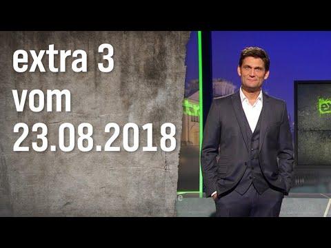 Extra 3 vom 23.08.2018   extra 3   NDR