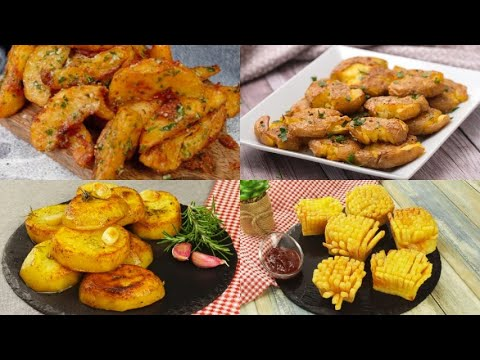 4 amazing ideas to cook potatoes