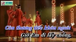 [Karaoke] Được Tin Em Lấy Chồng - Quang Lê