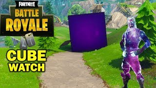 THE CUBE IS ACTIVATING RIGHT NOW! FORTNITE CUBE FINAL LOCATION! | Fortnite Battle Royale Cube Event