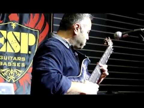"NAMM 2015 - JAVIER REYES - ESP GUITAR COMPANY (Performs ""Pontelo"")"