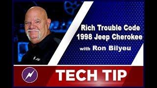 Fix a Rich Trouble P0172/P0300 Codes on a 1998 Jeep Cherokee | Ron Bilyeu | Tech Tip