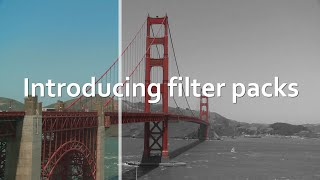 Horizon - Introducing filter packs