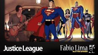 Justice League Unlimited by Fabio Lima GuitarGamer
