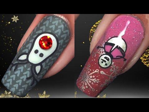 Christmas Nail Art Compilation - Nail Art Design Tutorial thumbnail