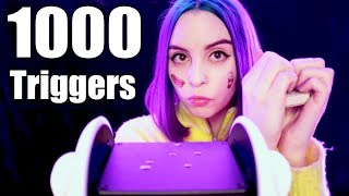 Download 1000 TRIGGERS IN 1 HOUR ASMR / 1000 ТРИГГЕРОВ ЗА 1 ЧАС АСМР Mp3 and Videos