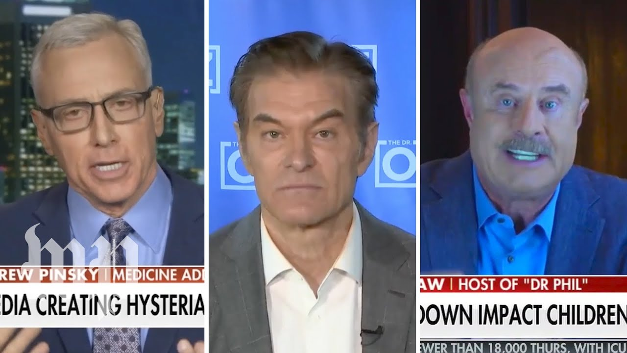 How Dr. Oz and others mirror Trump's coronavirus talking points on Fox News