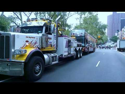 "TRIBUTE MIKES HEAVY DUTY  TOW SERVICE NYC ""STRENGTH & HONOR""  August 11, 2017"