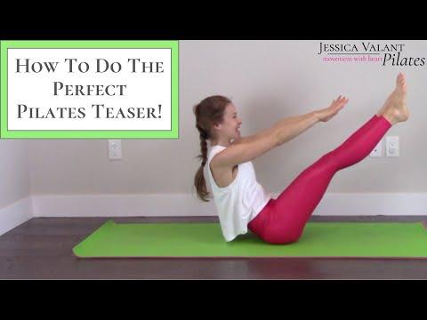 Pilates Teaser Tutorial How Anyone Can Do the Pilates Teaser Exercise