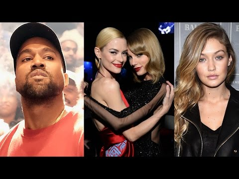 Celebs React to Kanye West's Taylor Swift