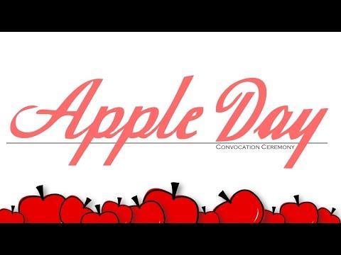2018 Apple Day Convocation (full program)