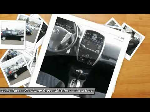 2016 nissan versa note inver grove heights st paul minneapolis p13854 youtube. Black Bedroom Furniture Sets. Home Design Ideas