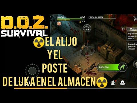 ☠DAWN OF ZOMBIES:survival(D.O.Z)2.27☢️!ALMACEN! 3☢️!EL POSTE y EL ALIJO de LUKA!☢️