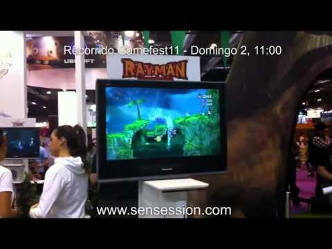 Recorrido Gamefest11 domingo 2 Octubre 11:00 H