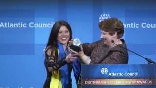 Ruslana: 2014 Distinguished Humanitarian Leadership Award