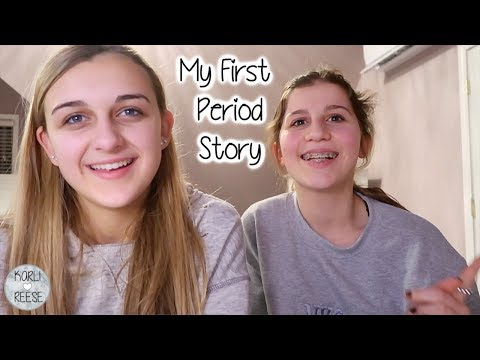 MY FIRST PERIOD - STORY TIME WITH KARLI REESE