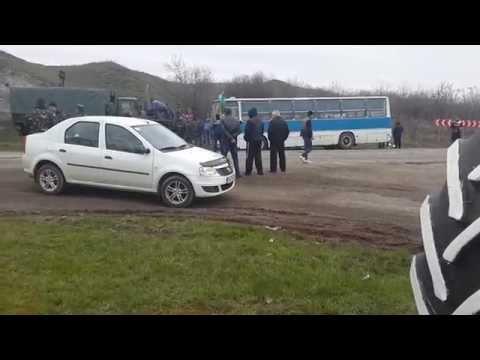 Артёмовск. Автобус с наёмниками. 3