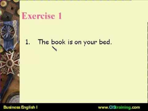 เคล็ดลับ เก่งภาษาอังกฤษใน 1 ชม ตอนที่ 10A แบบฝึกหัดข้อ 1 [CISTraining.com]