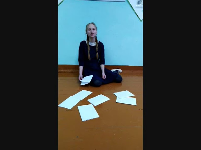Изображение предпросмотра прочтения – ЕленаШкляева читает произведение «Она сидела наполу…» Ф.И.Тютчева