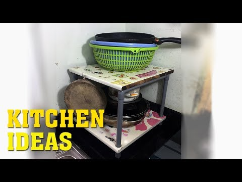 Kitchen organization ideas - How to organize small kitchen