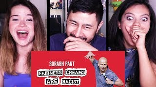 FAIRNESS CREAMS ARE R@CIST | Sorabh Pant | Comedy | Reaction!