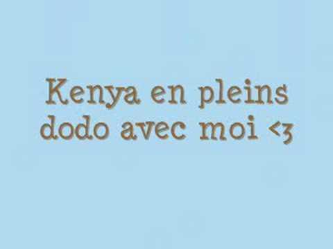 Kenya mon chat