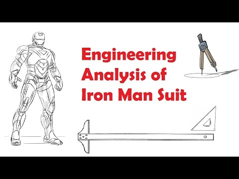 Engineering of Iron Man Suit