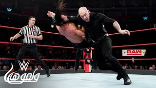 WWE Wal3ooha: بارون كوربين يريد الثأر من سيث رولينز