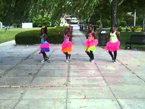 Stajettes present Ayanna's angels! dancing to young lyric aka lyrikkal