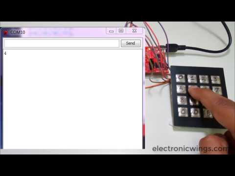 Ti Launchpad 4x4 Keypad Interfacing With Msp Exp430g2 Ti Launchpa