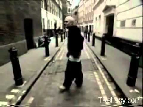 Video  Throwback Footage Of The Week  Eminem Acting A Fool In The Streets Of London!