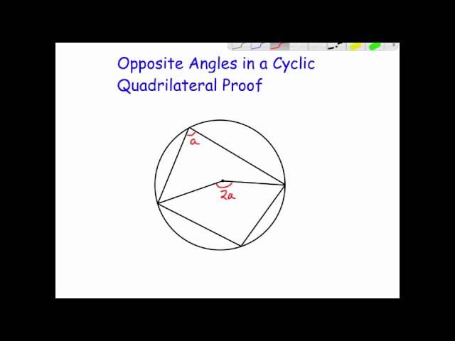 Cyclic quadrilateral proof corbettmaths ccuart Choice Image