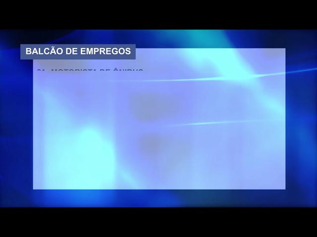 02-12-2019 - BALCÃO DE EMPREGOS - ZOOM TV JORNAL
