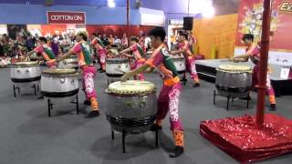 Festive Drums - Downtown East, Singapore