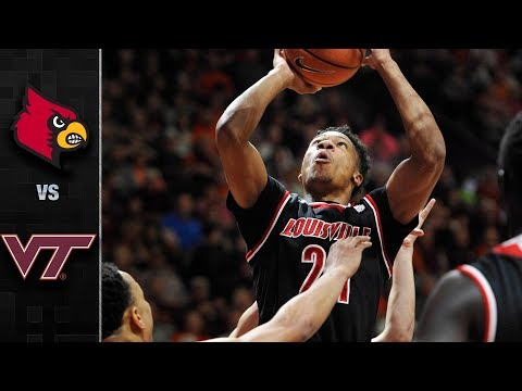 Louisville vs. Virginia Tech Basketball Highlights (2017-18)