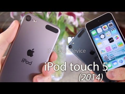 NEW iPod Touch 5 Review 16GB, 2014 5th Gen Model  iPod Touch Unboxing 5G, Comparison & Benchmarks